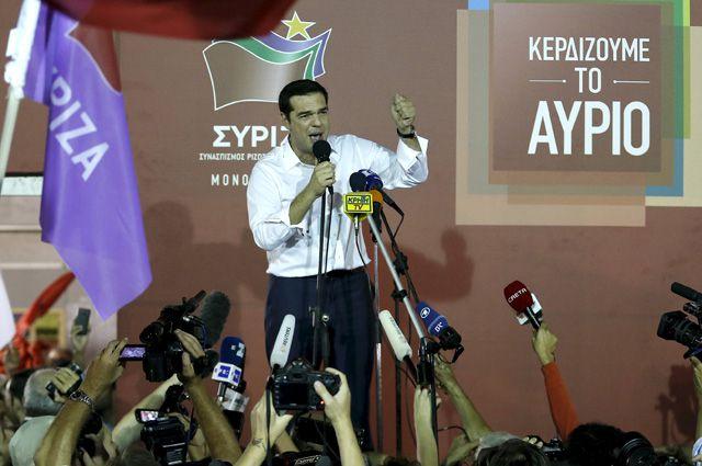 Алексис Ципрас.