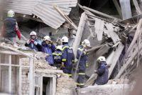 Взрыва бытового газа - предварительная причина обрушения дома.