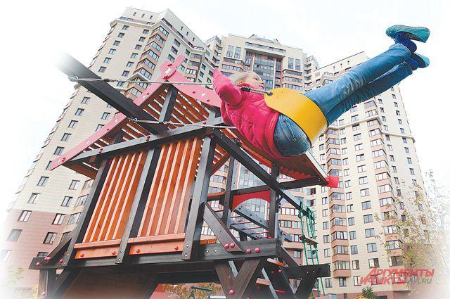 В Вознесенском переулке спряталась лучшая детская площадка в этом году.