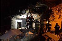 Дом в Омске обрушился из-за взрыва бытового газа.