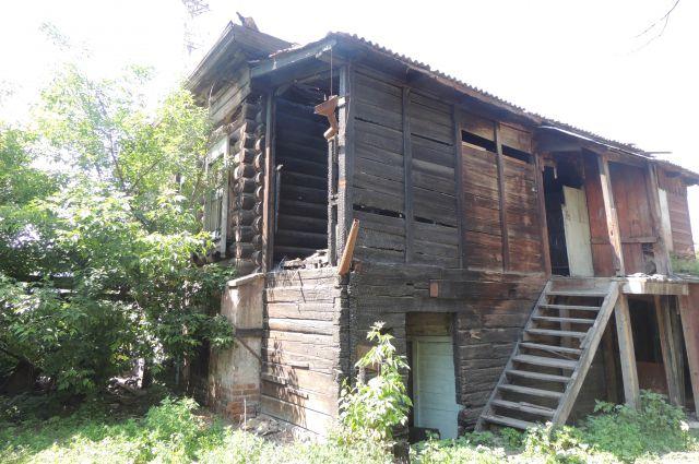 Дом казачьего пятидесятника Потылицына.