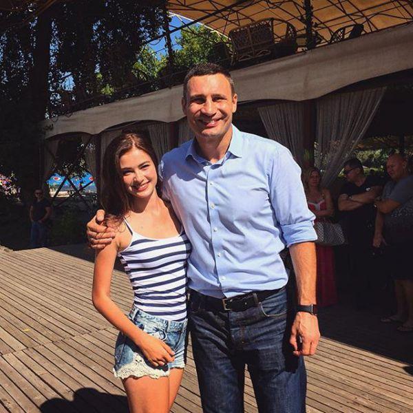 Кристина Столока и Виталий Кличко