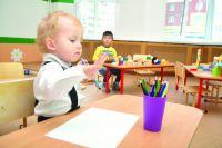 В детском саду малышам скучать не приходится.