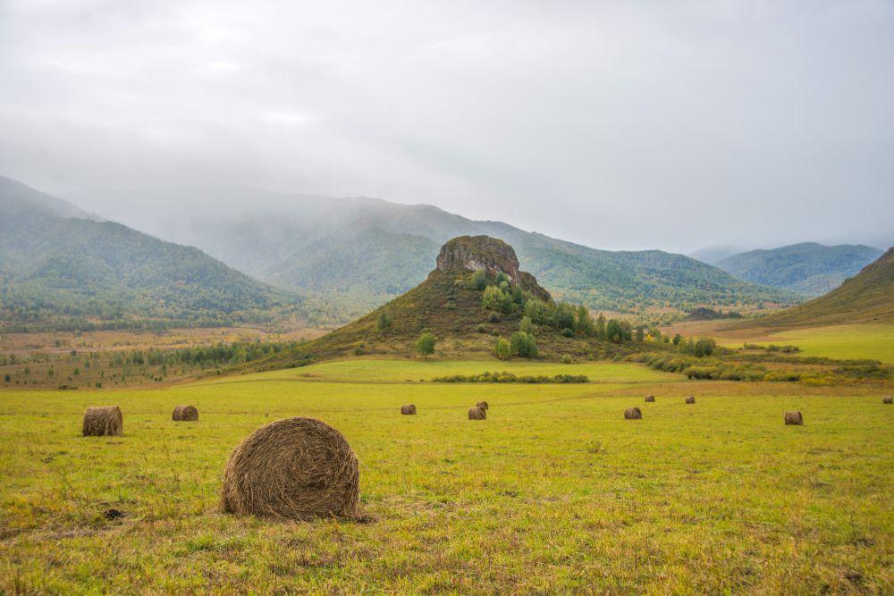 Гора Шляпная - символ Тигирекского заповедника.