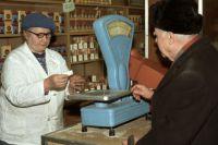 В годы перестройки в  СССР ввели талоны на водку, мыло, сахар, женское бельё, сигареты, чай, крупы, соль.