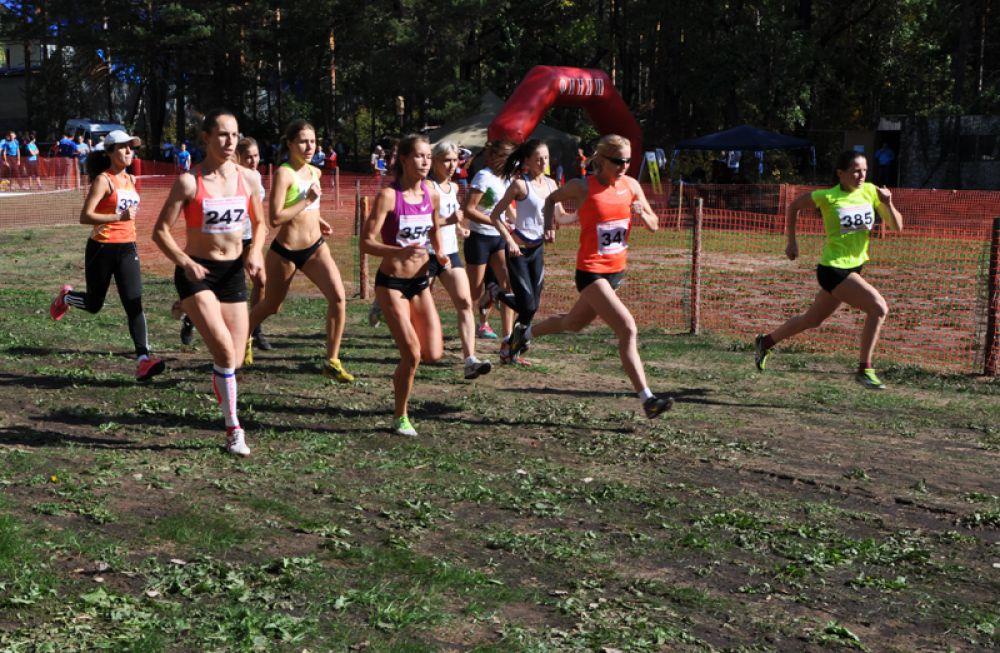 Первый старт - женский забег