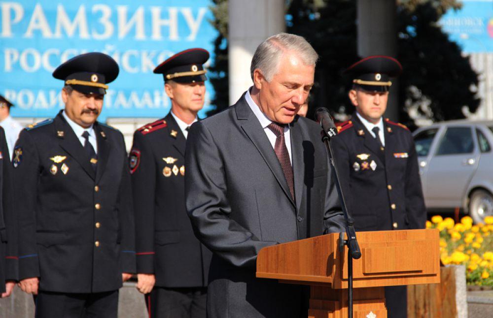 Успеха и заслуженных побед пожелал участникам соревнований заместитель председателя Правительства Ульяновской области Николай Маркин