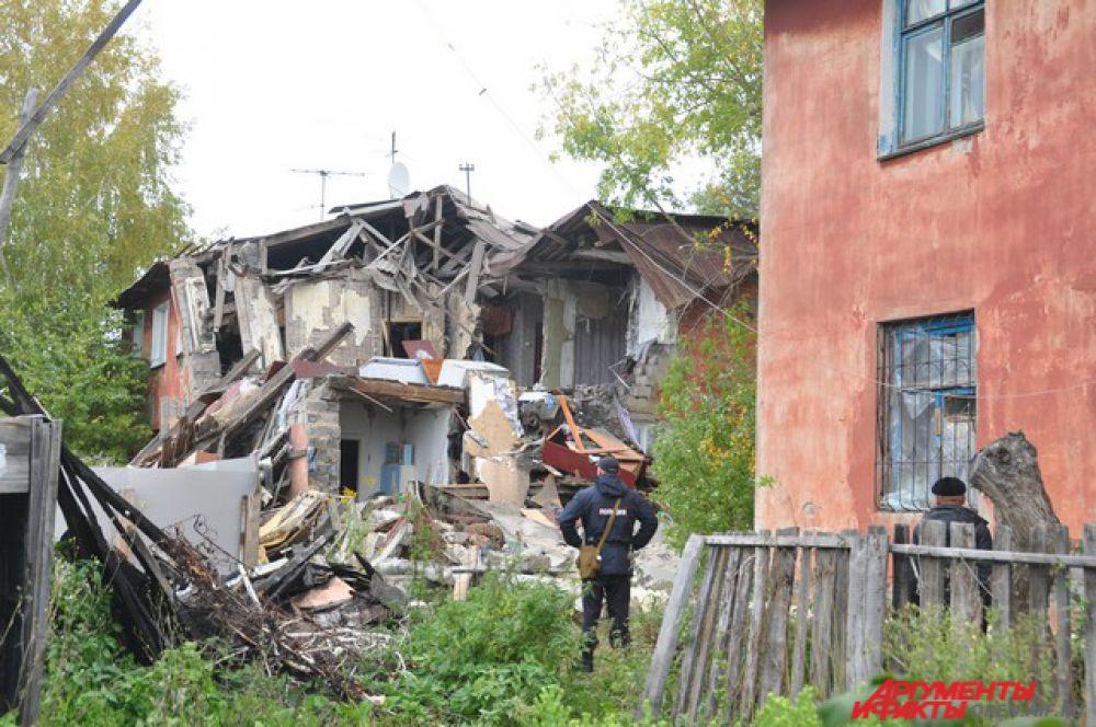 Взрыв газа произошел 22 сентября около восьми часов вечера.