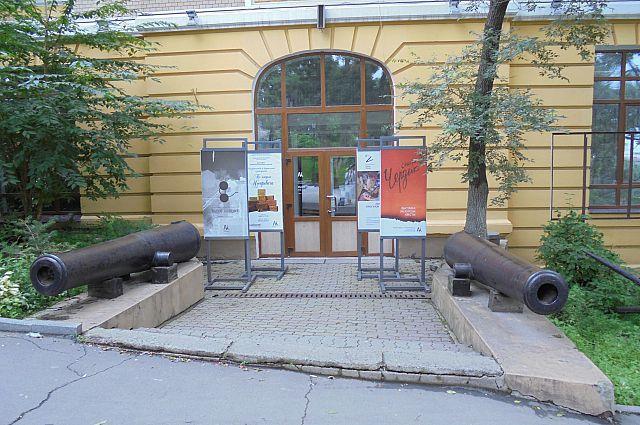 Музей города на улице Петра Великого.