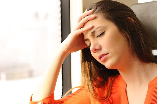 сильная реакция на стресс