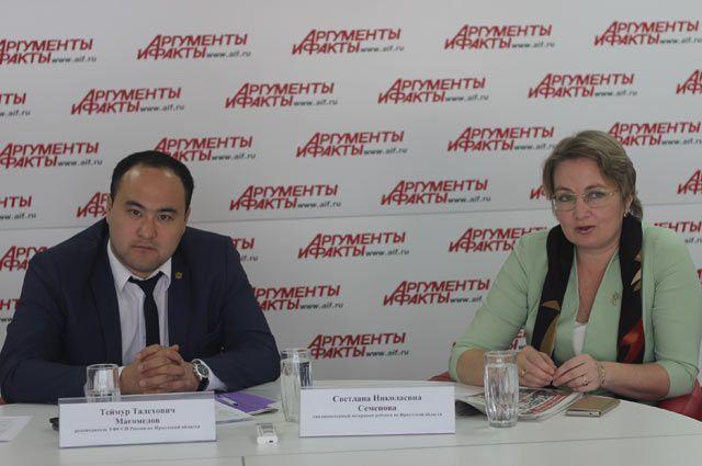 Теймур Магомедов и Светлана Семенова