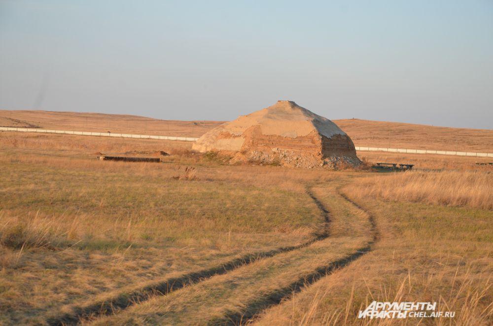 Древнее жилище, возможно, III-IV вв. до нашей эры.
