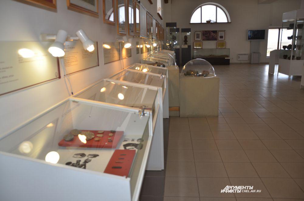 "Музей Аркаима носит название ""Природа и человек""."