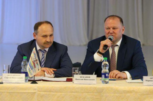 Сергей Лютаревич и Николай Цуканов.