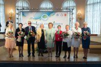 Председатель Совета Федерации РФ Валентина Матвиенко на международном Евразийском женском форуме.