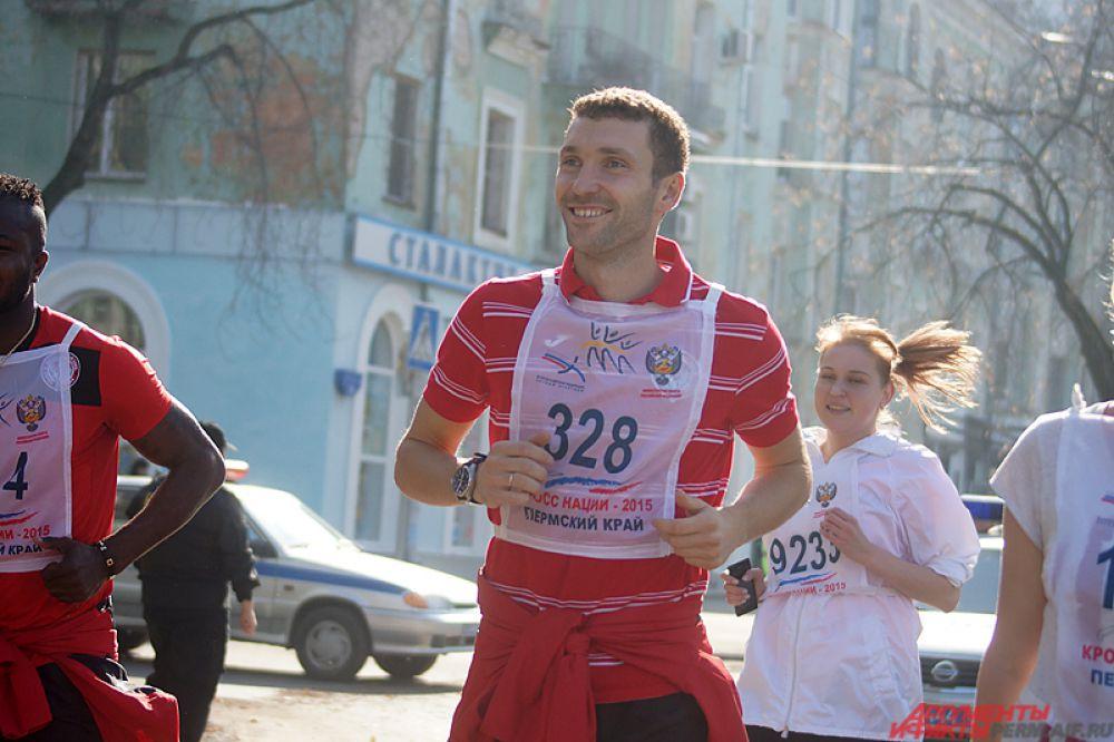 Защитник «Амкара» Иван Черенчиков.