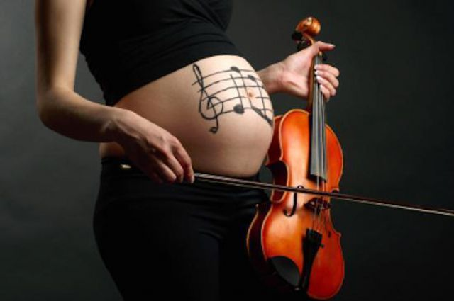 Классической музыке и беременные