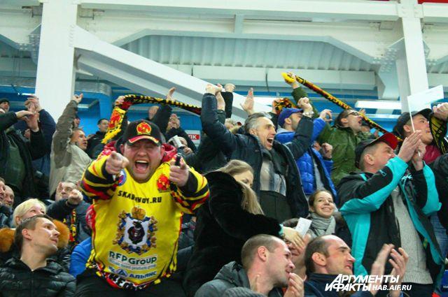 Один из секторов в арене «Ерофей» теперь отдадут членам фан-клуба