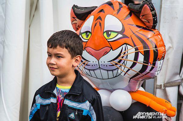 Чеширским бывает не только кот, но и тигр.