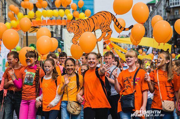Привет участникам тигриады!