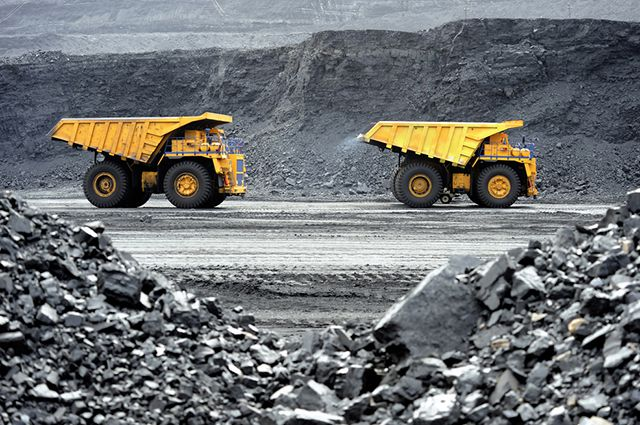 Березовская ГРЭС работает на угле.