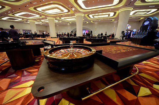 Рулетка в казино.