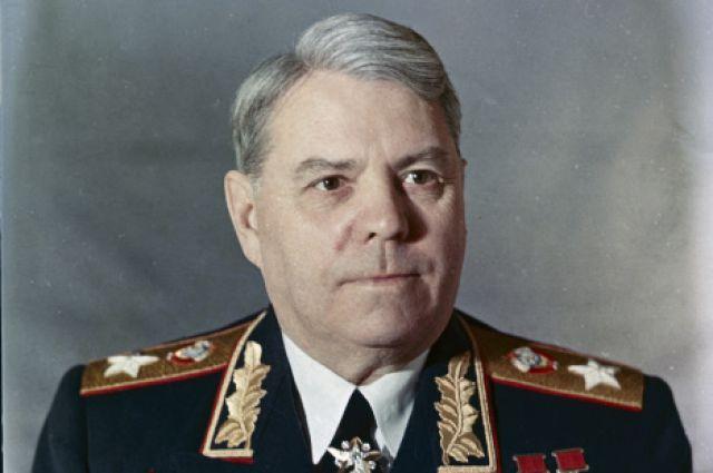 Маршал Александр Василевский.