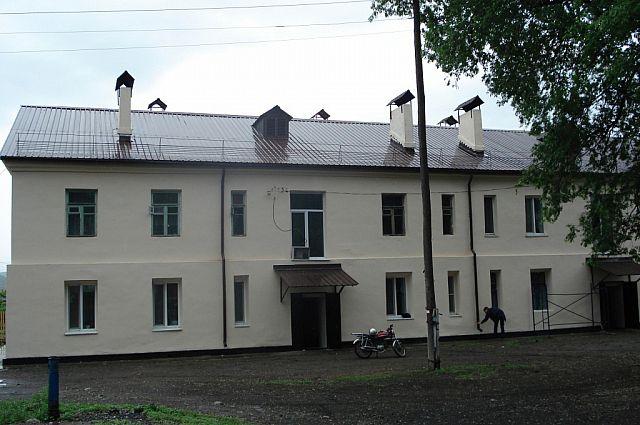 Капитальный ремонт домов в Партизанске.