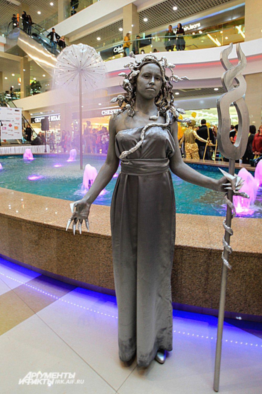 Медуза-Горгона из мифов древней Греции.
