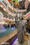 Одна из самых впечатляющих статуй фестиваля.