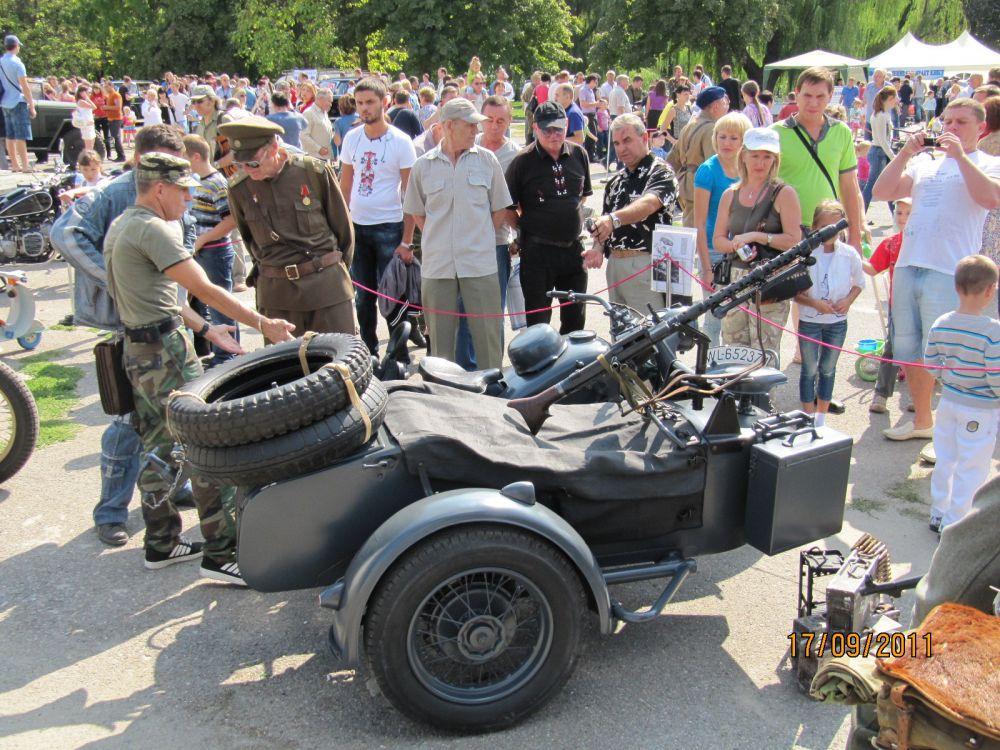 «Лучший ретро-мотоцикл» - BMW R75 1942 (Роман Борщев, Аксай, Ростовская область)