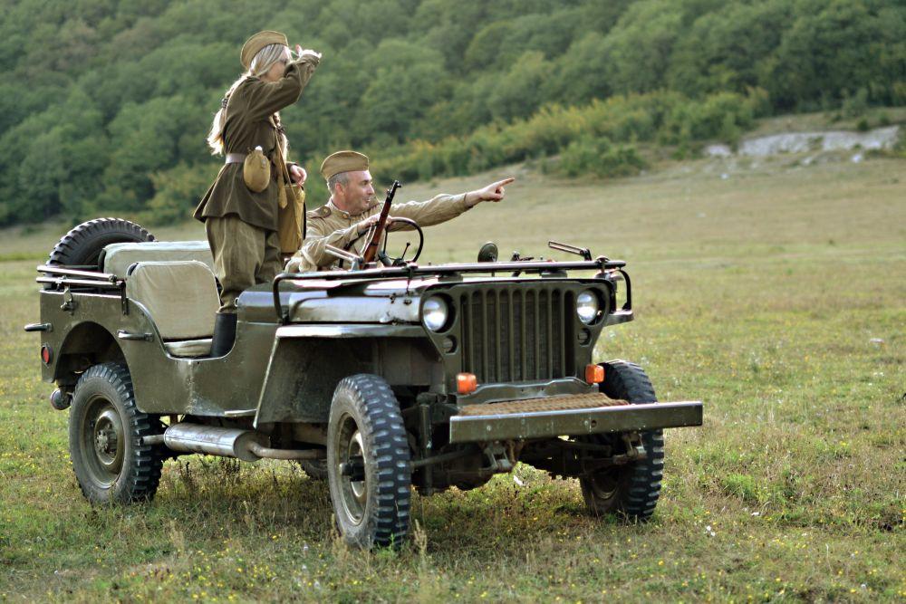 «Лучший ретро-кар» - Willys MB 1943 (Владимир Хейсин, пос. Новомихайловский, Туапсинский р-н)