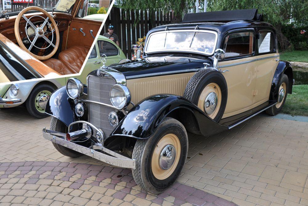 «Лучший ретро-кар» - Mercedes-Benz 200 W21 1938