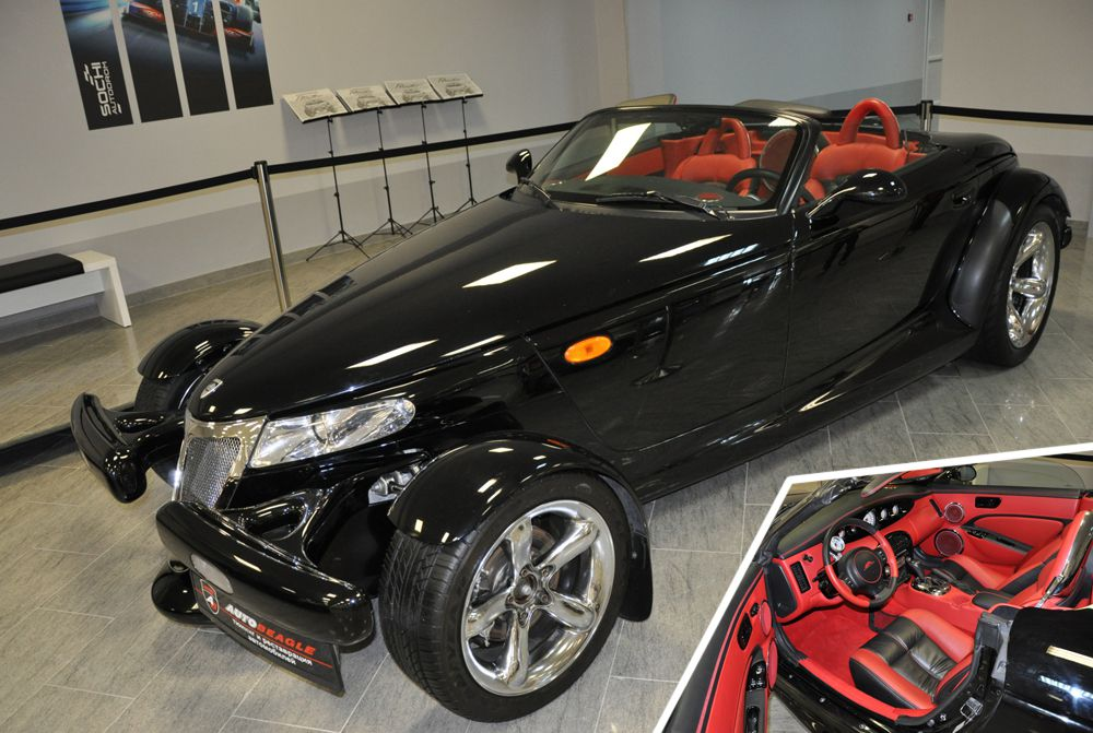 «Выбор организаторов» - Plymouth Prowler Hot-Rod black (Сочи Авто Спорт Музей)