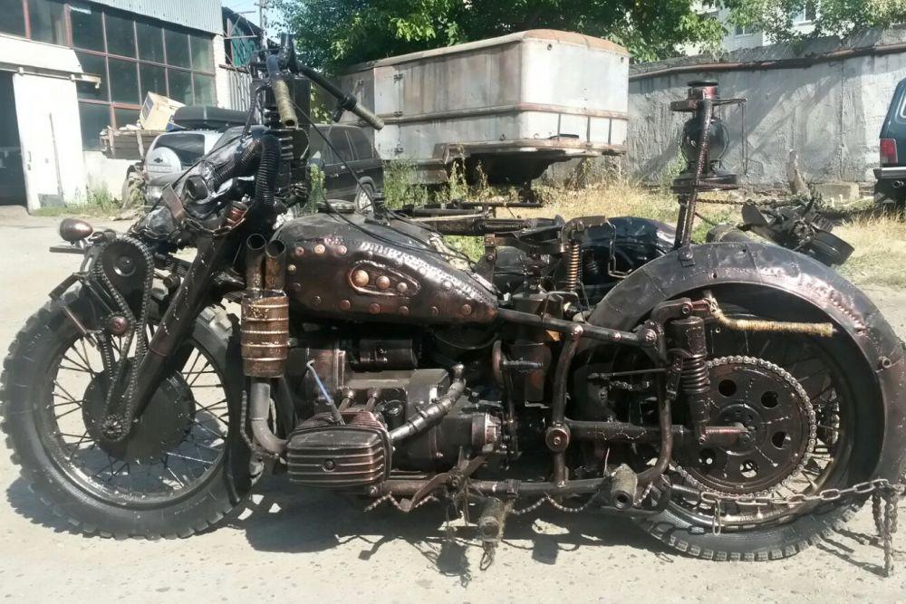 «Приз зрительских симпатий» - Днепр-11 Crazy Bike (Эдуард Белов, Майкоп)