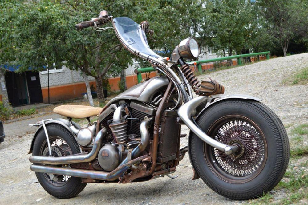 «Лучший мотоцикл» - Kawasaki Vulcan 1500 «Арбалет вулканического происхождения» (Константин Ходусов, пос. Псебай, Краснодарский край)