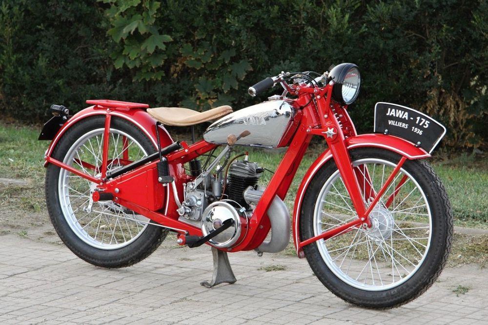 «Лучший ретро-мотоцикл» - Jawa 175 Villiers 1936 (Николай Кучковский, Ростов-на-Дону)