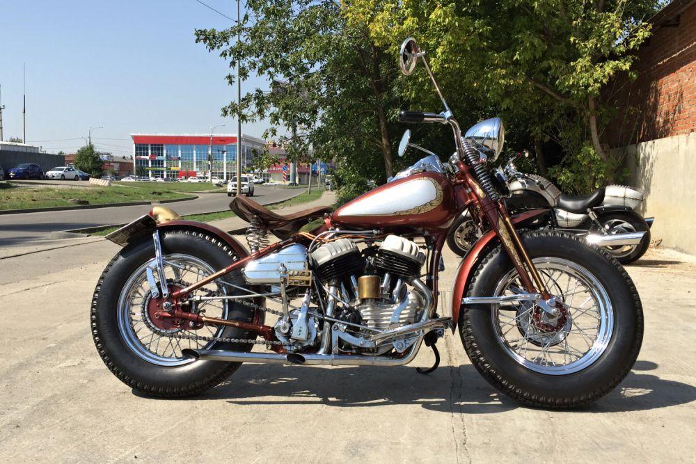 «Лучший мотоцикл» - Harley-Davidson WLA 42 Bubbler (Дмитрий Большеченко, Краснодар)