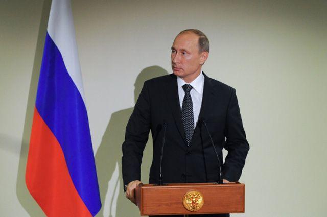 Владимир Путин на пресс-конференции по итогам участия в 70-й сессии Генеральной Ассамблеи ООН.