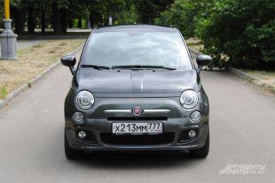 Тест-драйв Fiat 500.