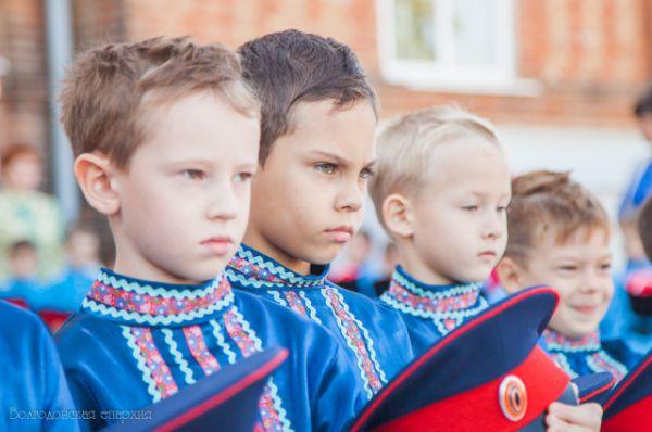 «Посвящение в казачата»  состоялось для 80 детей из казачьих семей.
