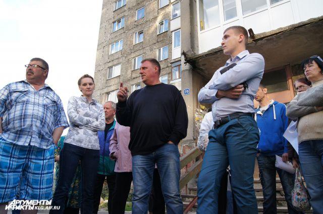 Жильцы многоэтажки на Московском проспекте.