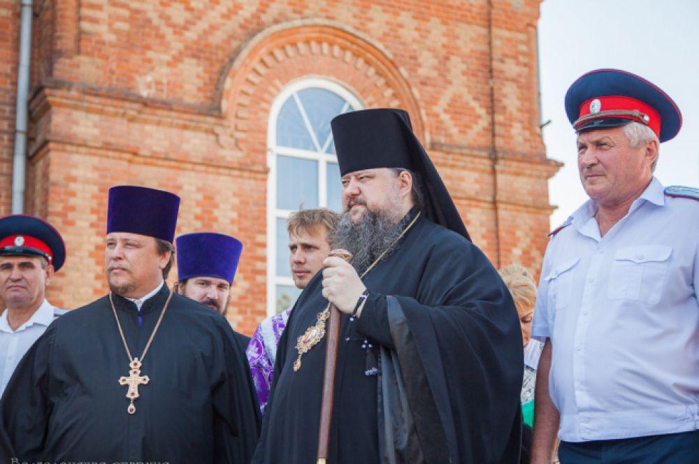 В мероприятии принял участие глава Волгодонской епархии епископ Волгодонский и Сальский Корнилий.