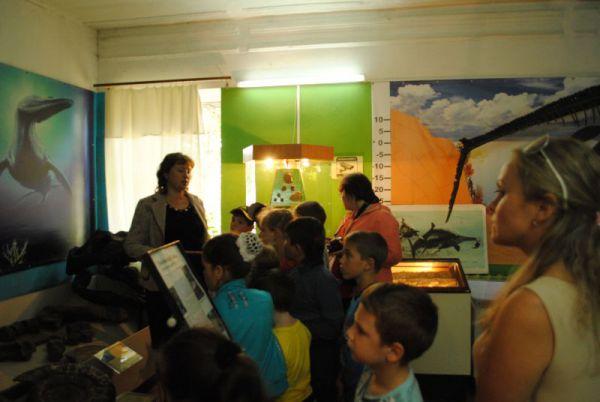 Экскурсия в палеонтологическом музее.