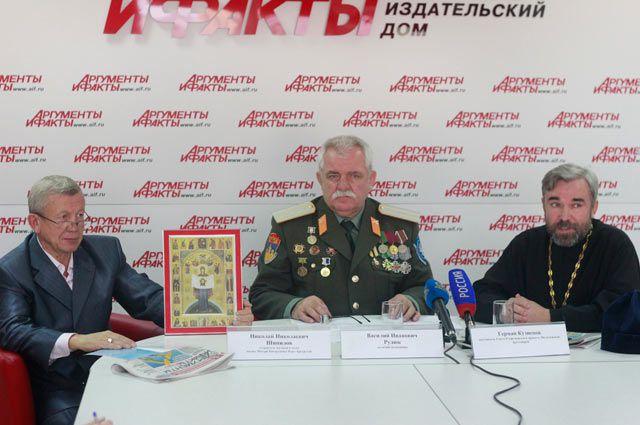 Николай Шипилов, Василий Рудюк и Герман Кузнецов