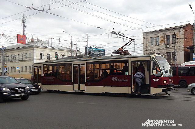 Трамваи №№12 и 13 временно