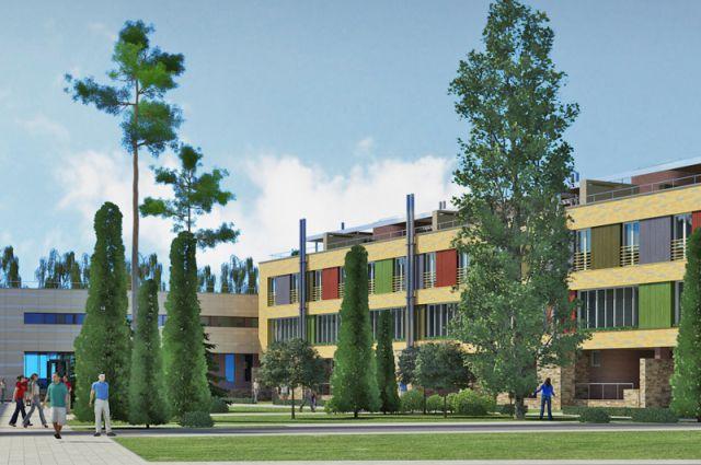 В новом гостиничном комплексе будут созданы все условия для труда и работы.