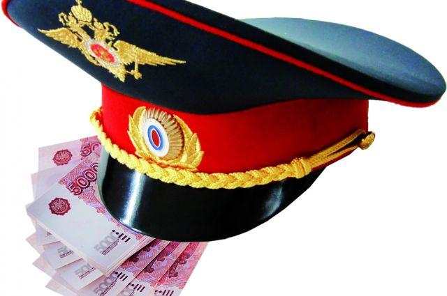 Подполковнику полиции грозит уголовная статья за крупную взятку.