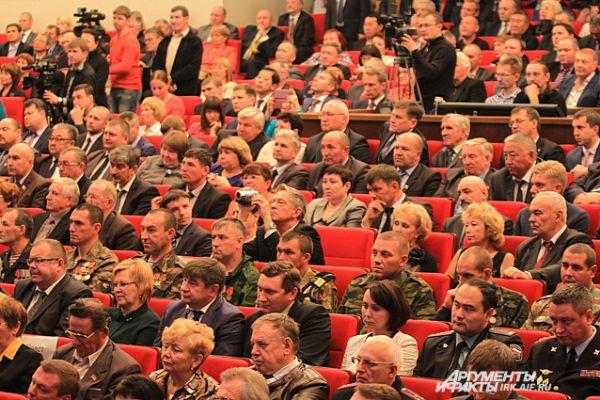 На инагурации присутствовали представители общественных организаций.
