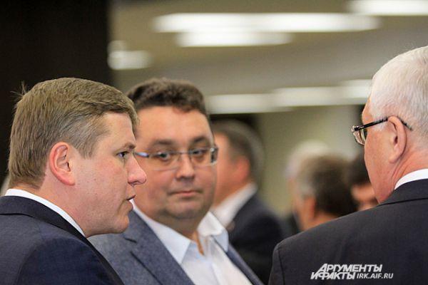 Инаугурация проходила во время 28 сессии законодательног особрания Иркутской области.